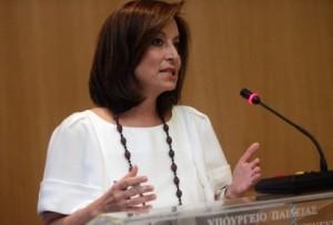 אנה דיאמאנטופולו, שרת החינוך היווני