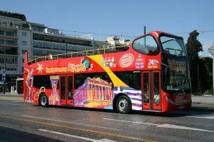 אוטובוס באתונה
