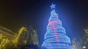 עץ חג המולד באתונה