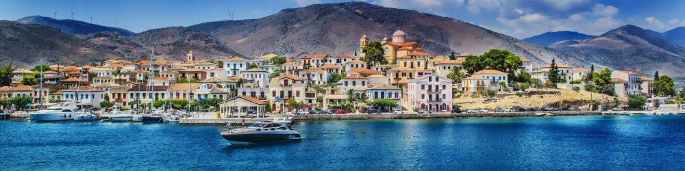 עיירת הנופש גלקסידי ביוון