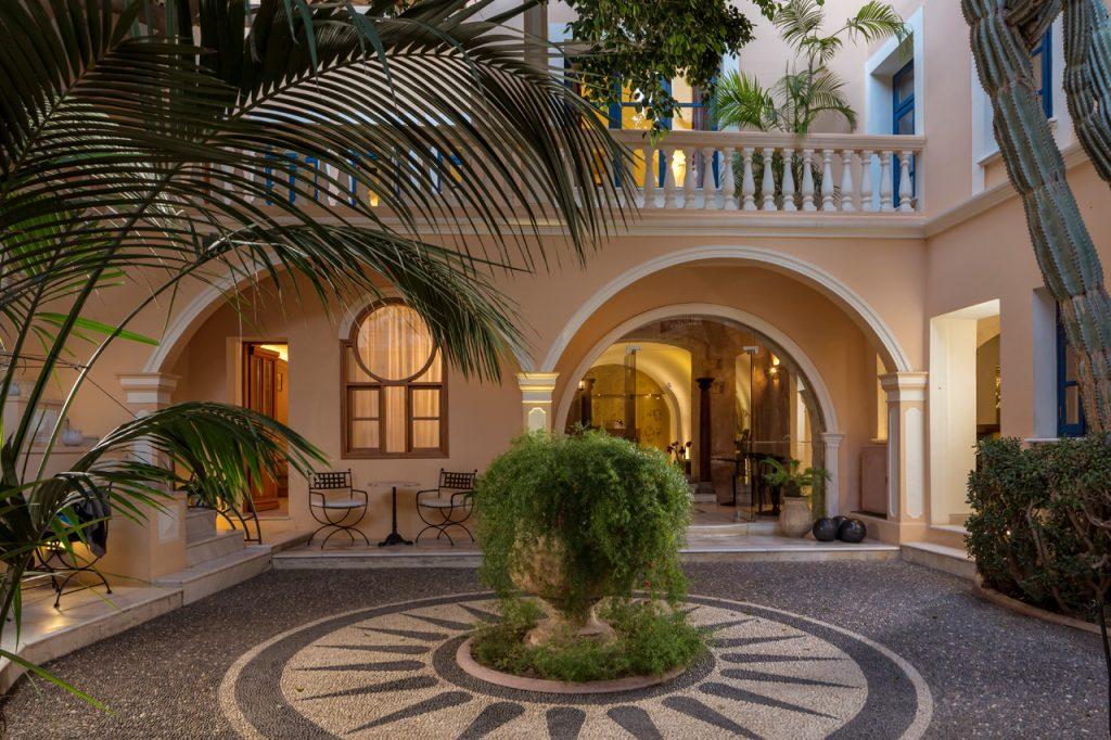 לובי מלון קאזה דלפינו