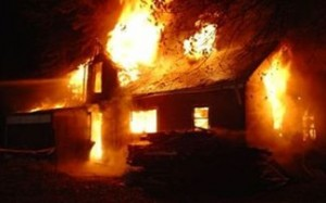 שלושה ילדים נשרפו למוות בביתם, הבוקר בכפר מסורופי