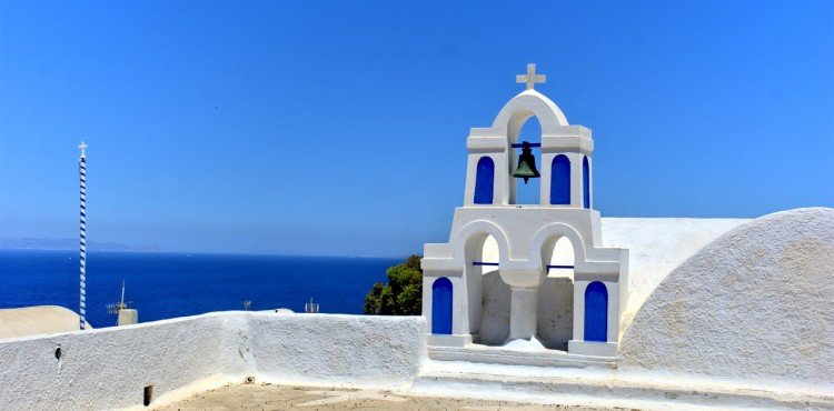 פעמוני הכנסייה ביוון