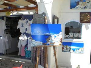 חנות מזכרות ביוון