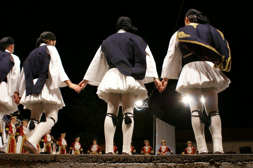 ריקוד יווני מסורתי
