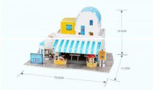 ערכת משחק לילדים של חנות מזכרות יוונית
