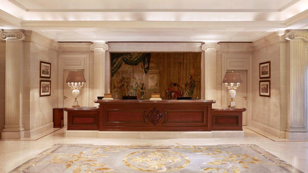 הקבלה במלון קינג ג'ורג'