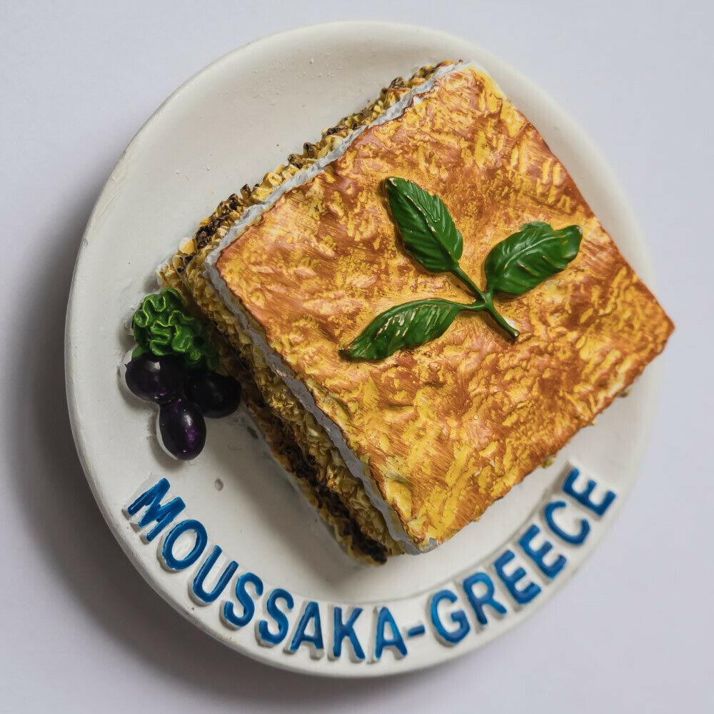 מגנט למקרר מוסקה יוונית