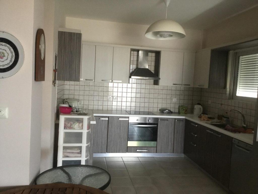 המטבח בקומה הקרקע של הבית