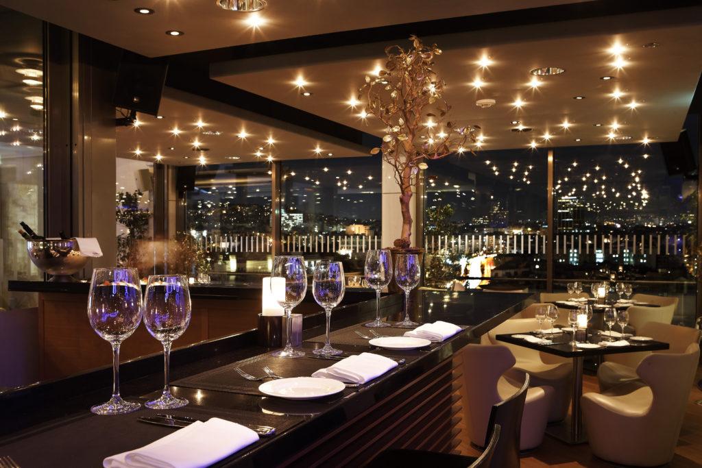 מסעדת גלקסי במלון הילטון אתונה