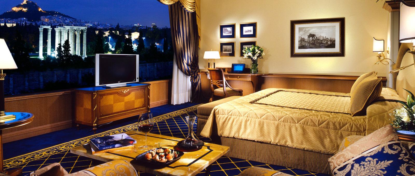 חדר במלון רויאל אולימפיק