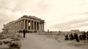 """""""אתונה הקטנה"""", עיר הבירה של יוון מנקודת מבט מיניאטורית"""