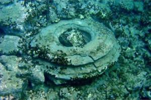 עתיקות נחשפו סמוך לחופים של זקינתוס